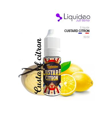 E-Liquide CUSTARD CITRON - Liquideo
