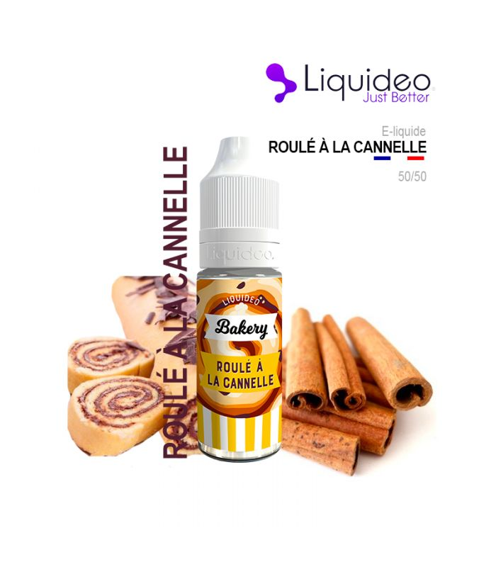 E-Liquide ROULÉ À LA CANNELLE - Liquideo