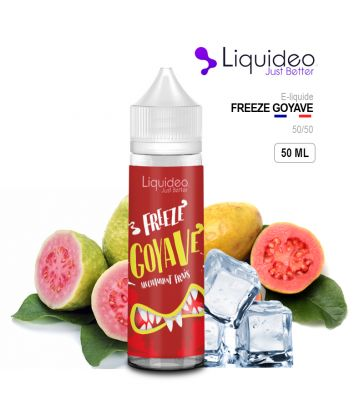 E-Liquide FREEZE GOYAVE - Liquideo