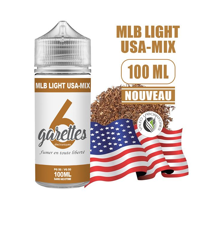 Eliquide MLB LIGHT USA-MIX - VALEO 100 ML