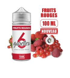 Eliquide FRUITS ROUGES - VALEO 100 ML
