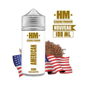 Eliquide L'AMÉRICAIN - HM 100 ML
