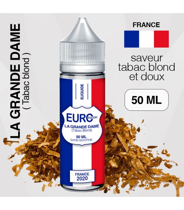 "E-liquide "" FRANCE "" 50 ML - EUROLIQUIDE"