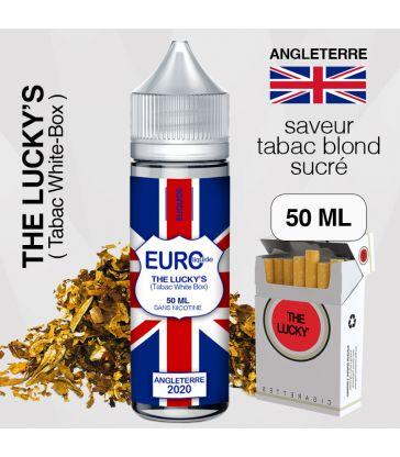 """E-liquide """" ANGLETERRE """" 50 ML - EUROLIQUIDE"""