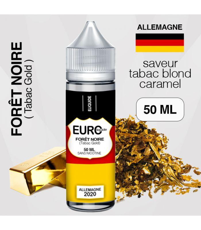 """E-liquide """" ALLEMAGNE """" 50 ML - EUROLIQUIDE"""