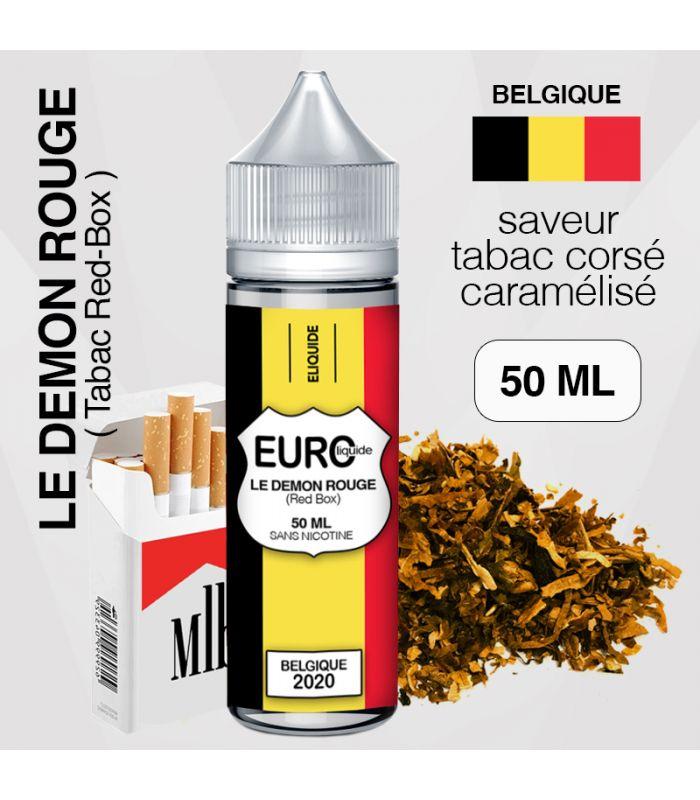 """E-liquide """" BELGIQUE """" 50 ML - EUROLIQUIDE"""