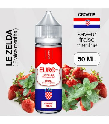 "E-liquide "" CROATIE "" 50 ML - EUROLIQUIDE"