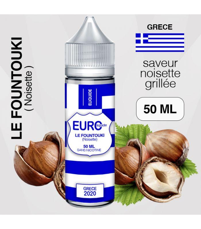 """E-liquide """" GRECE """" 50 ML - EUROLIQUIDE"""