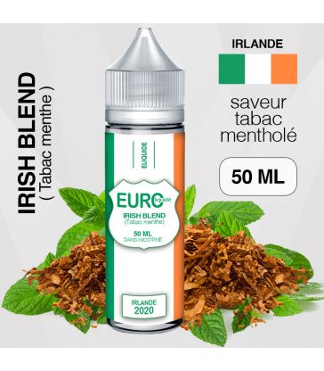 """E-liquide """" IRLANDE """" 50 ML - EUROLIQUIDE"""