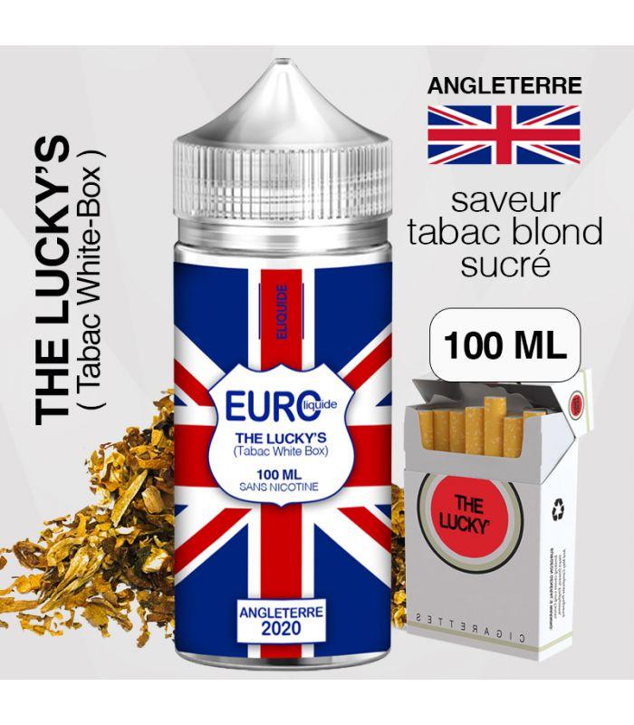"""E-liquide """" ANGLETERRE """" 100 ML - EUROLIQUIDE"""