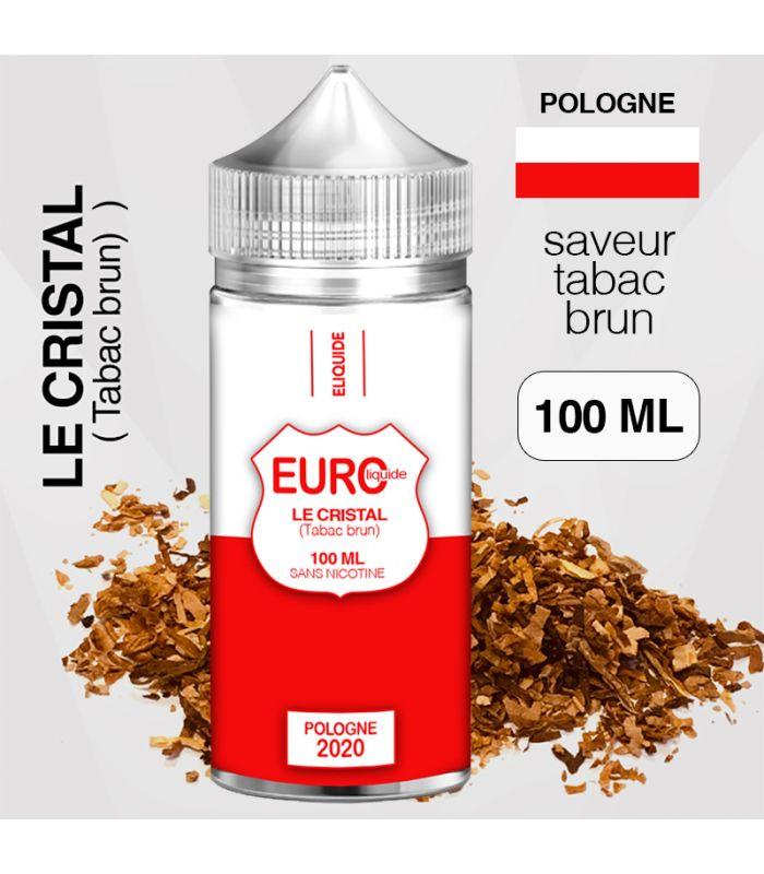 """E-liquide """" POLOGNE """" 100 ML - EUROLIQUIDE"""