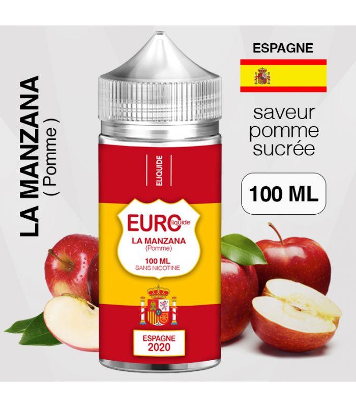"""E-liquide """" ESPAGNE """" 100 ML - EUROLIQUIDE"""