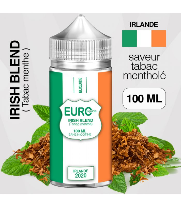 """E-liquide """" IRLANDE """" 100 ML - EUROLIQUIDE"""