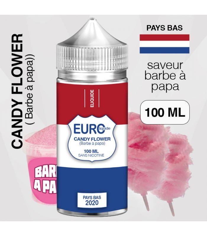 """E-liquide """" PAYS-BAS """" 100 ML - EUROLIQUIDE"""