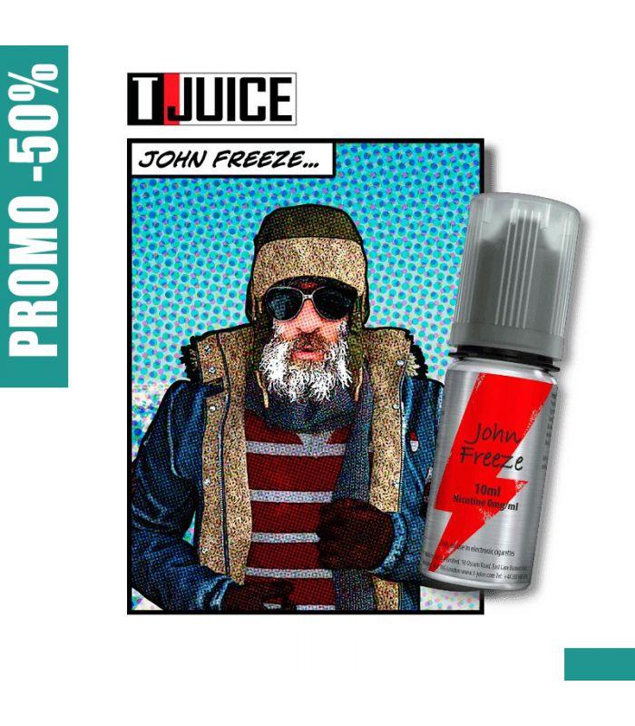E-LIQUIDE mentholé et poivré JON FREEZE - T JUICE