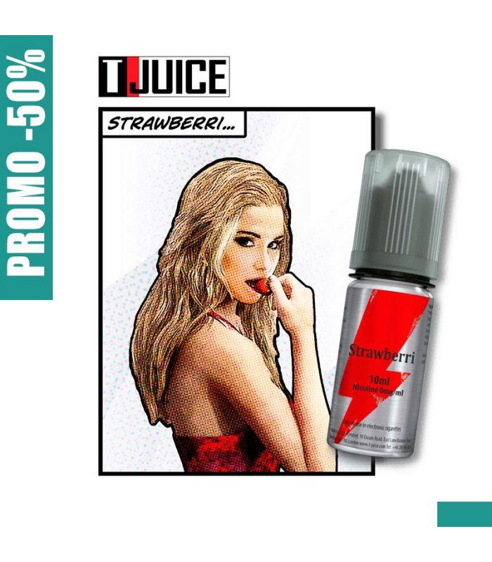 E-LIQUIDE T JUICE STRAWBERRI 10 ml
