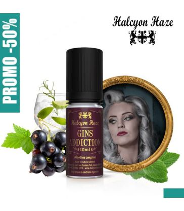 E-LIQUIDE GIN'S ADDICTION 10ML - HALCYON HAZE