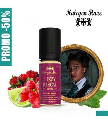 E-LIQUIDE LIZZY RASCAL 10ML - HALCYON HAZE