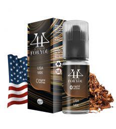 E-liquide USA MIX - 4YOU - Tabac Blond Classic