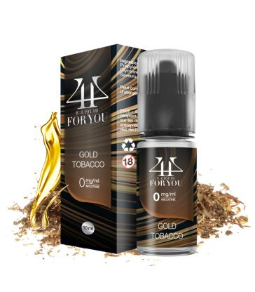 E-liquide GOLD TOBACCO - 4YOU