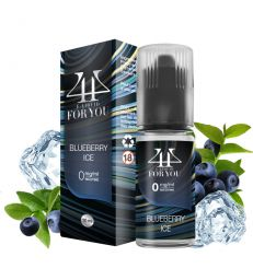 E-liquide Myrtille BLUEBERRY ICE - 4YOU