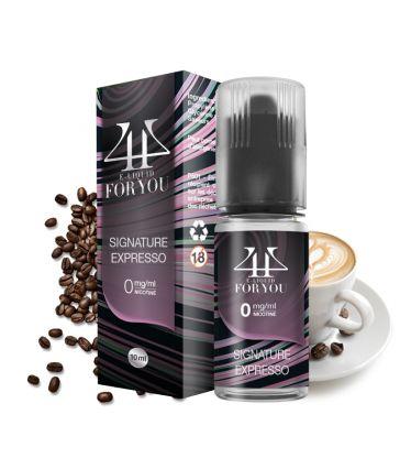 E-liquide Café Expresso | SIGNATURE EXPRESSSO - 4YOU