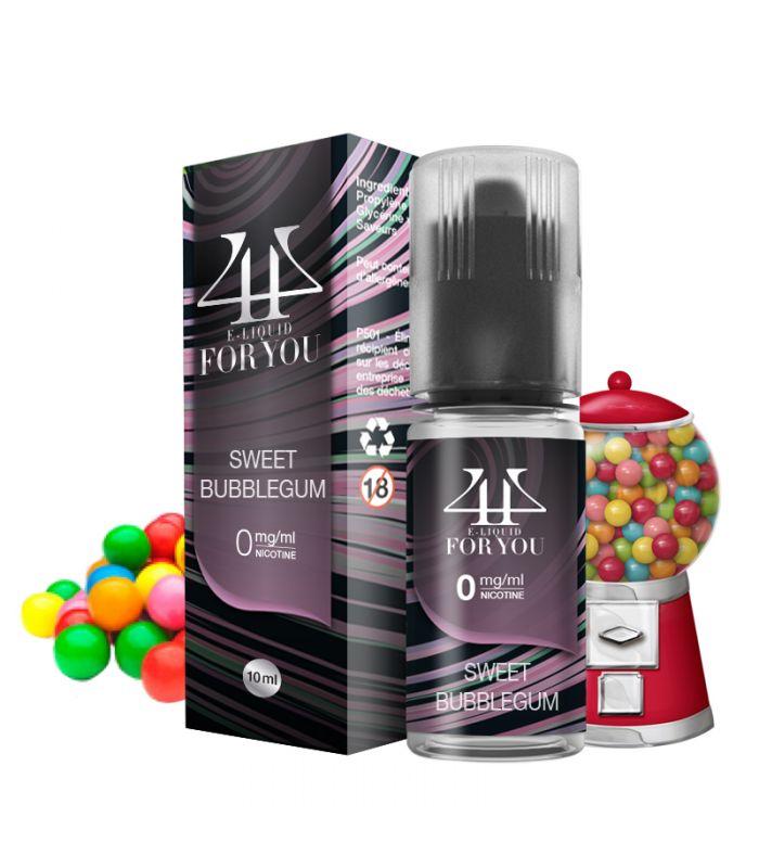 E-liquide chewing-gum | SWEET BUBBLEGUM 4YOU