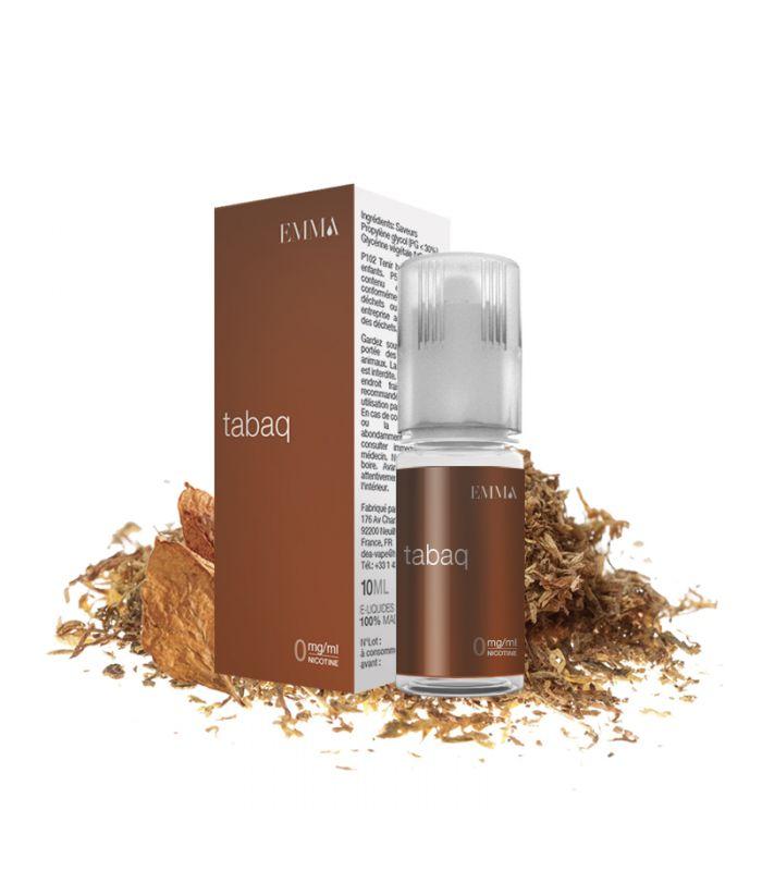E-liquide Tabac Brun | TABAQ 4YOU