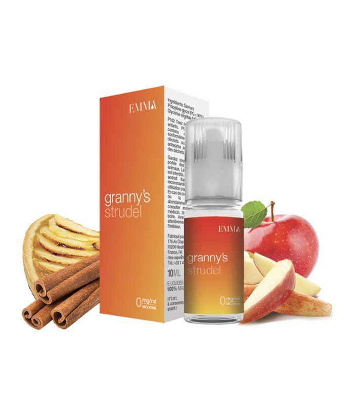 E-liquide tarte aux pommes et cannelle - EMMA