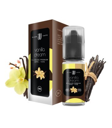 E-liquide Vanille | VANILLA DREAM - GLAM VAPE
