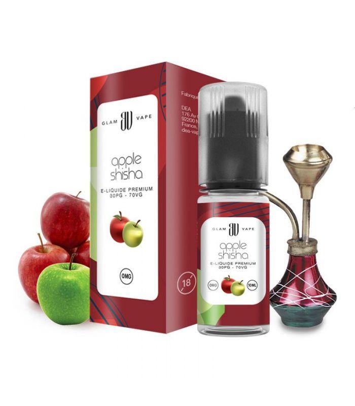 E Liquide Chicha (Narguilé) Double Pommes APPLE SHISHA - GLAM VAPE