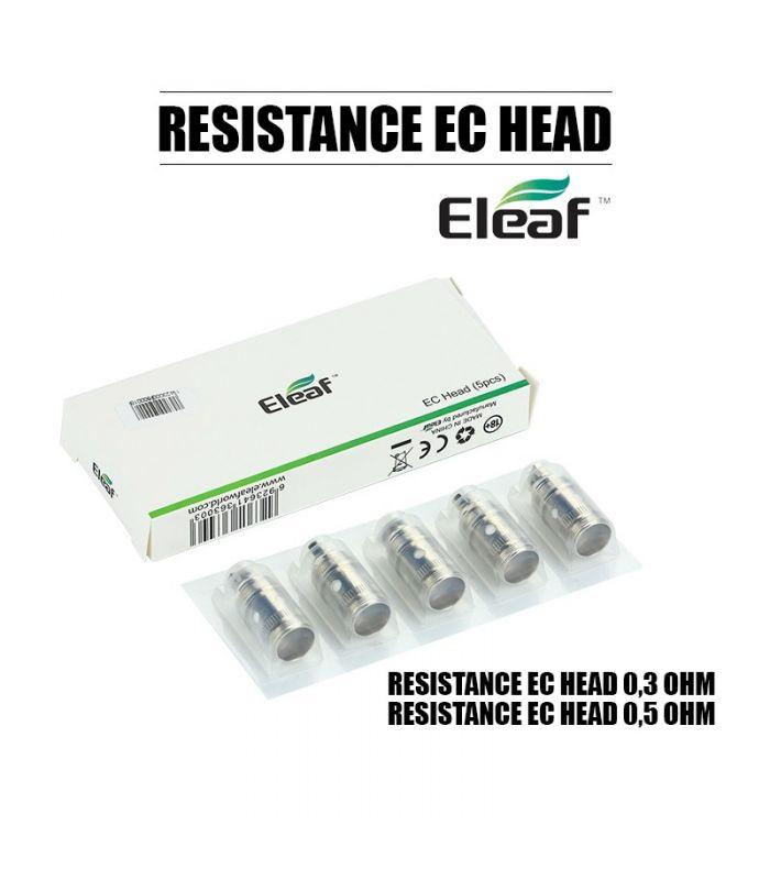 Résistance Eleaf EC Head pour Cigarette Électronique iJust 2