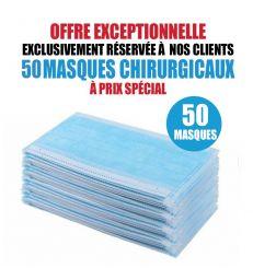 50 MASQUES CHIRURGICAUX
