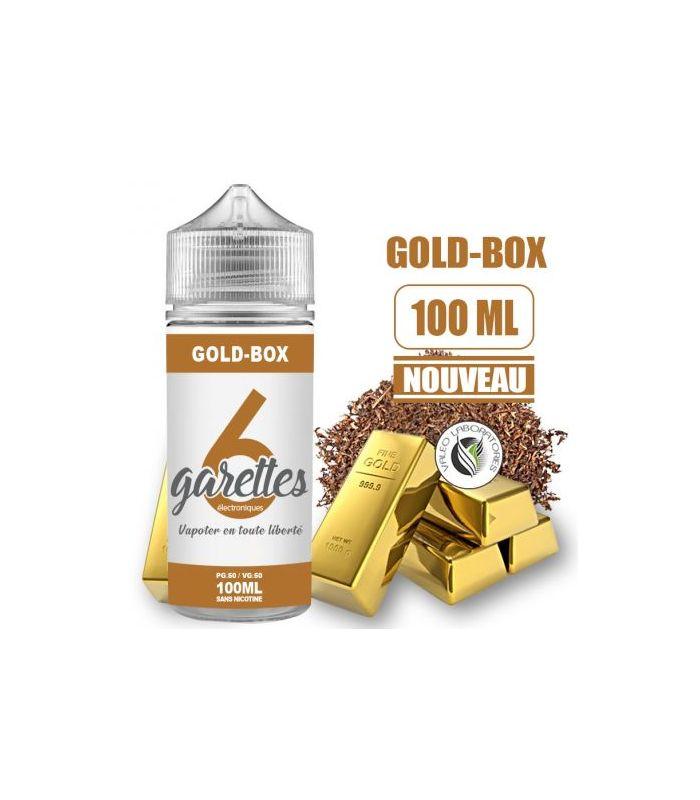 E-liquide GOLD-BOX - VALEO 100 ML