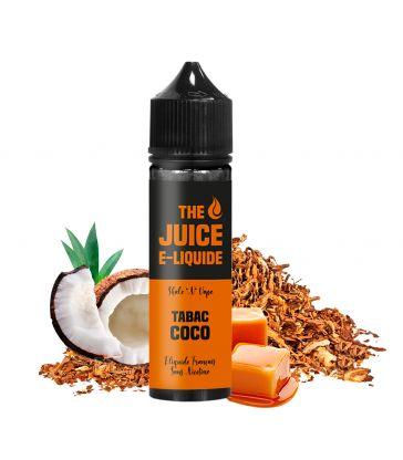 E-Liquide Tabac, Noix de Coco, Caramel 50 ML TABAC COCO - THE JUICE