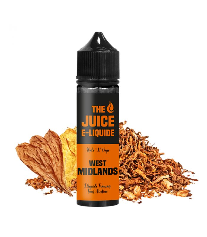 E-Liquide Tabac Blond 50 ml WEST MIDLANDS - THE JUICE