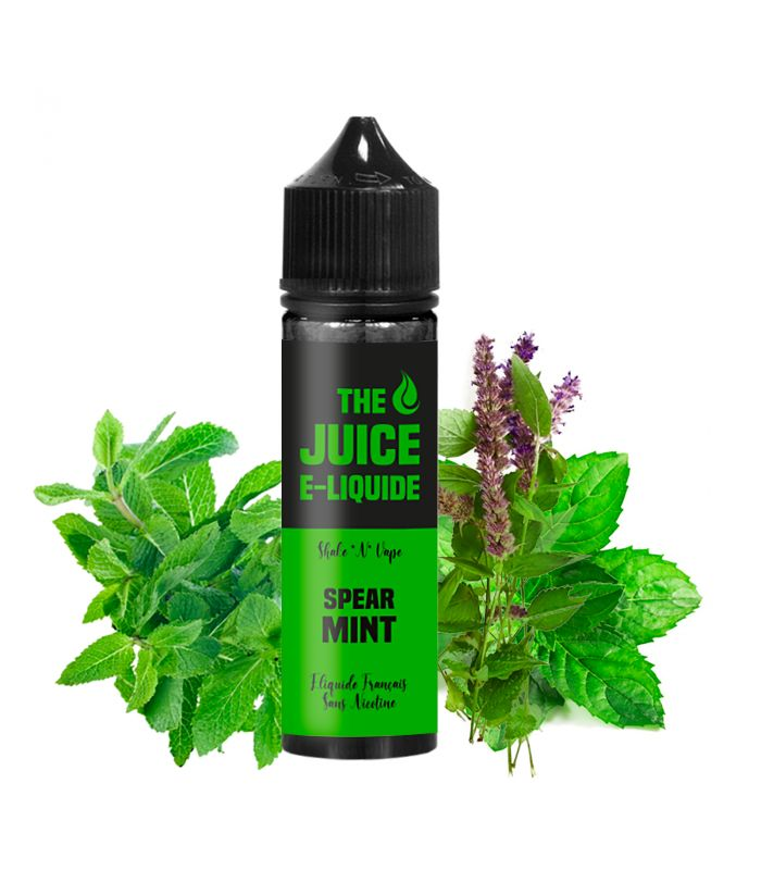E-Liquide Menthe Verte 50 ml SPEARMINT - THE JUICE