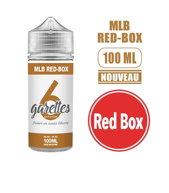 Eliquide MLB RED-BOX - VALEO 100 ML