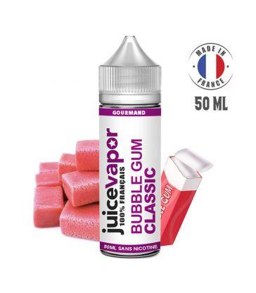 E-liquide BUBBLE GUM CLASSIC 50 ML