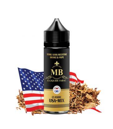 E-LIQUIDE MB TABAC USA-MIX 50 ml pas cher, Tabac Blend