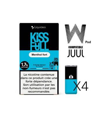 W-pod KISS FULL Liquideo Pack de 4 POD
