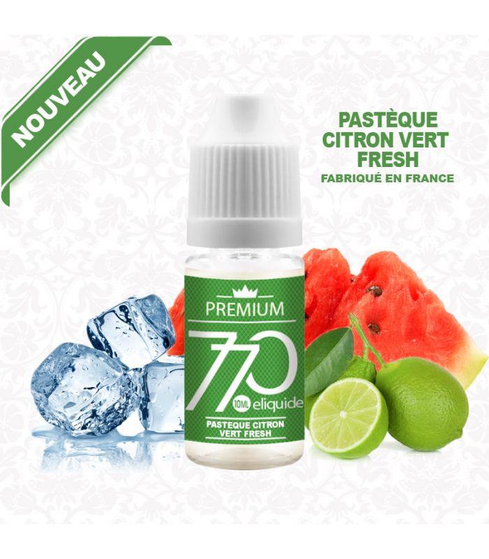E-liquide PASTÈQUE CITRON VERT FRESH 770 PREMIUM 10 ml