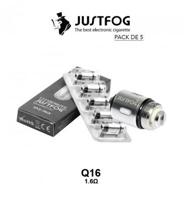 RESISTANCE Q16 1.6 Ohm - JUSTFOG