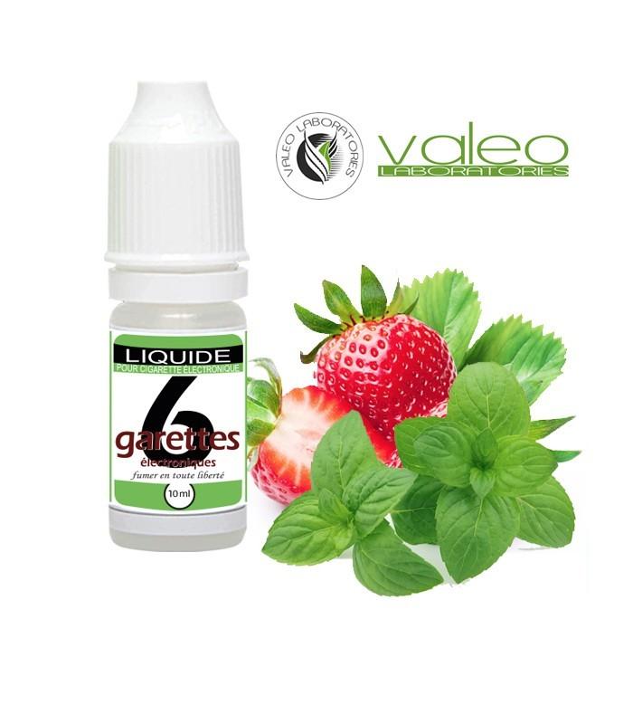 E-Liquide FRAISE MENTHE - VALEO 10 ml