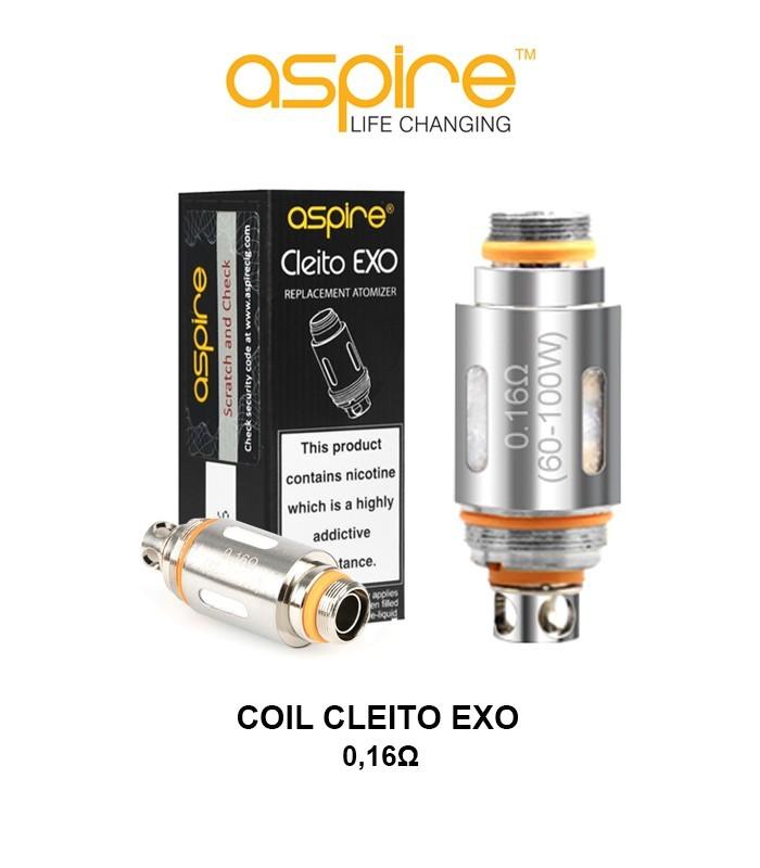 COIL RESISTANCE ASPIRE CLEITO EXO