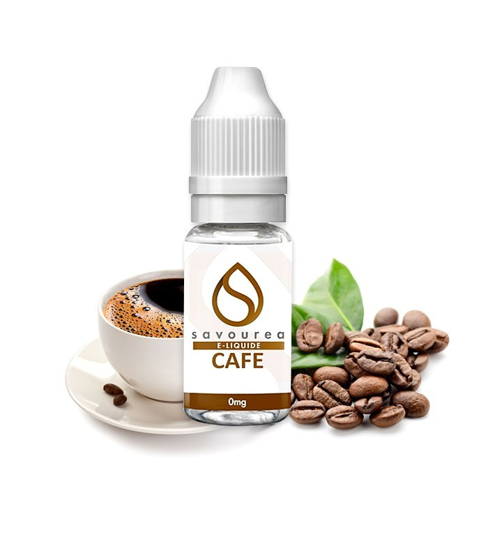 E-LIQUIDE SAVOUREA CAFÉ 10 ml
