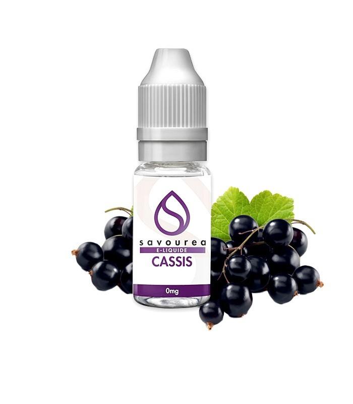 E-LIQUIDE SAVOUREA CASSIS 10 ml