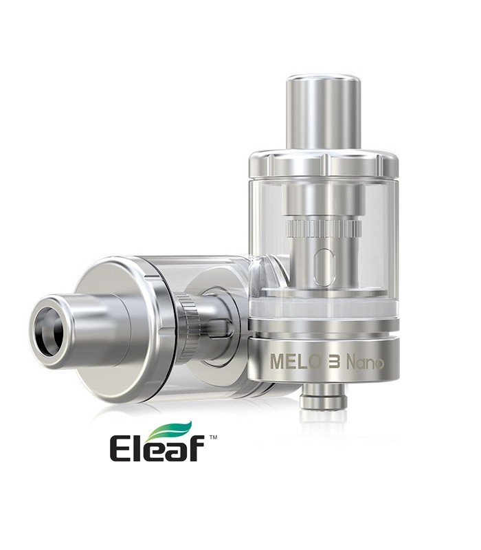 CLEAROMISEUR ATOMISEUR ELEAF Melo 3 Nano 0,3 Ω et 0,75 Ω