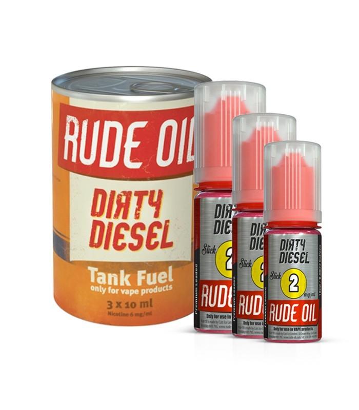 DIRTY DIESEL SLICK (50/50) - RUDE OIL