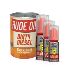 E-LIQUIDE DIRTY DIESEL HIP DRIP (3X10ML) - RUDE OIL